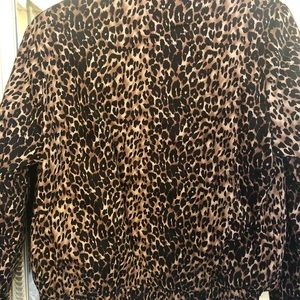 Lucca Couture Jackets & Coats - Leopard Bomber Lined Jacket
